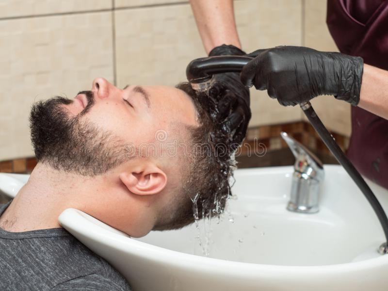 lavado de cabello despues de injerto